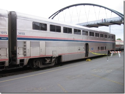 IMG_0684 Amtrak Superliner II Coach #34103 at Union Station in Portland, Oregon on May 10, 2008