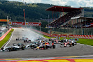 Start of the 2014 Belgian F1 GP