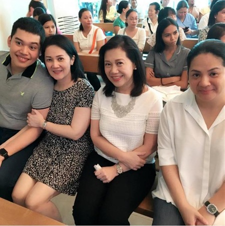 Josh, Ballsy, Pinky and Ninay attend Bimby's 1st Holy Communion