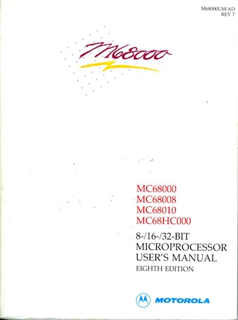 M68K Family Microprocessor User's Manual