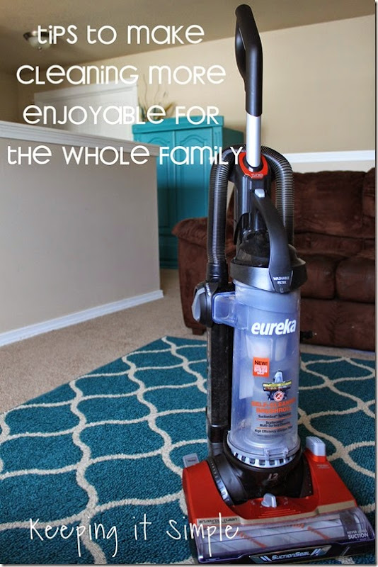 #ad Tips-To-Make-Cleaning-More-Enjoyable-For-The-whole-Family #CleaningUntangled