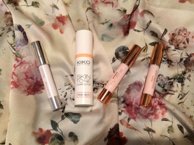 Kiko, Milano, Makeup, Primer, Lip balm, Contouring set