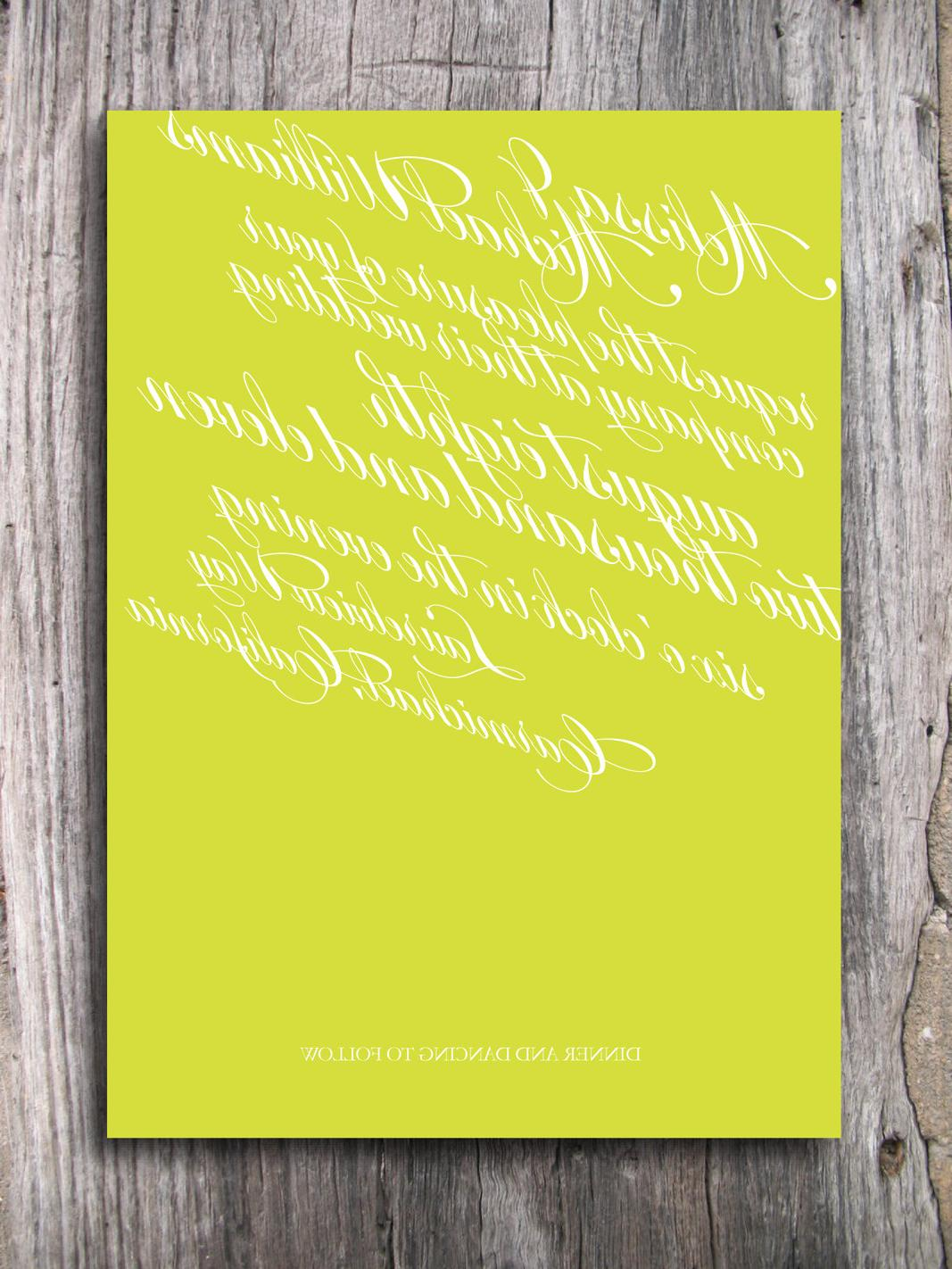 Wedding Invitation - All