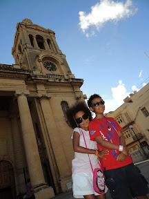 At Paola Parish church
