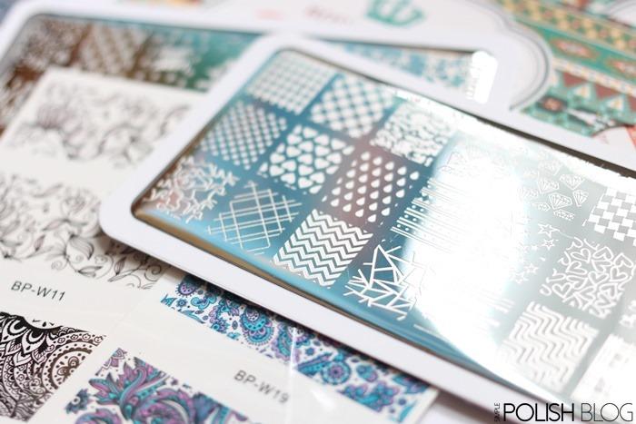 Born-Pretty-Store-Stamping-Plate-Chevrons-Dots-3