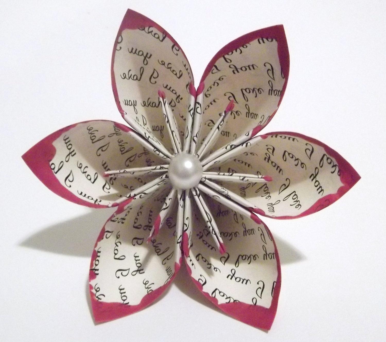 I love you Handmade Origami