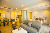 stylish one bedroom sea view apartment in wongamat beach     to rent in Naklua Pattaya