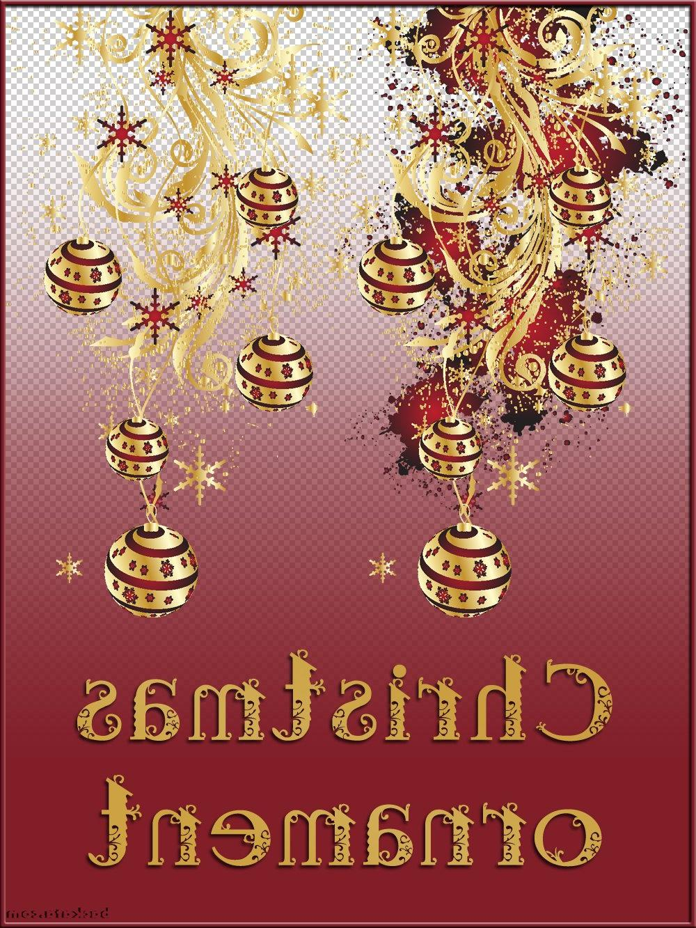 Christmas ornament - Clipart