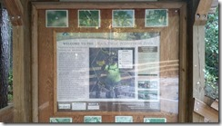 Black Bear Wilderness Area - Trailhead Kiosk