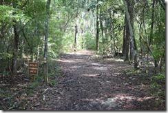 River-Sink Trail entrance 2