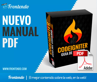 Manual CodeIgniter Guia del Usuario