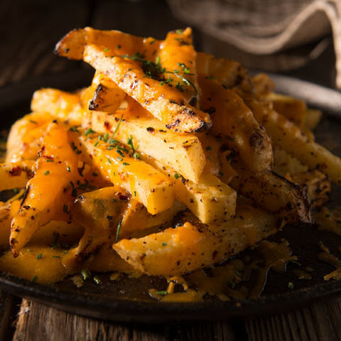 Cheesy Garlic Fries