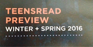 TeensRead Preview Winter + Spring 2016