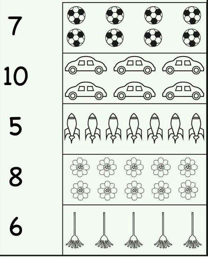 مجموعة روضة الأطفال Pelajaran Tk A Berhitung Ke 3