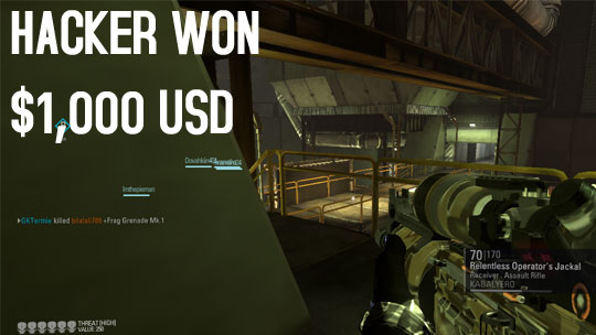 Hacker Won $1,000 USD