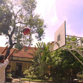 School Basketball by Iman Alfarizi - Sports & Fitness Basketball ( basketball, sma, school, indonesia, streetbasketball )
