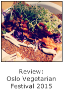 burrito raw food at oslo vegetarian festival 2015