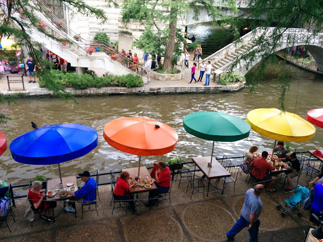 Colorful San Antonio Riverwalk Atmosphere