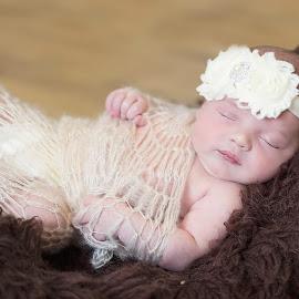 sleep tight baby by Melissa Marie Gomersall - Babies & Children Babies ( girl, little, baby, swaddle, sleep, hush, wool )