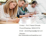 eBranding India is an Experts in Dissertation Writing services in Coimbatore
