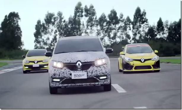 Renault Sandero RS aparece em novo teaser