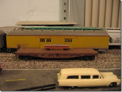 IMG_4619 T-Scale Train on HO-Scale Flatcar