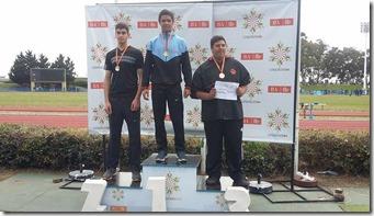 Nicolás Pérez Basile le dio la primera medalla de oro a La Costa en las finales de los Juegos BA