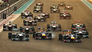 Start of 2013 Abu Dhabi F1 GP