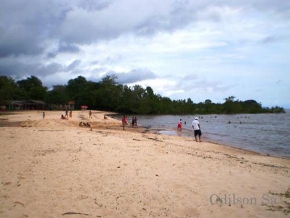 Praia de Carananduba - Ilhade Mosqueiro, Belém do Parà, fonte: Odilson Sà