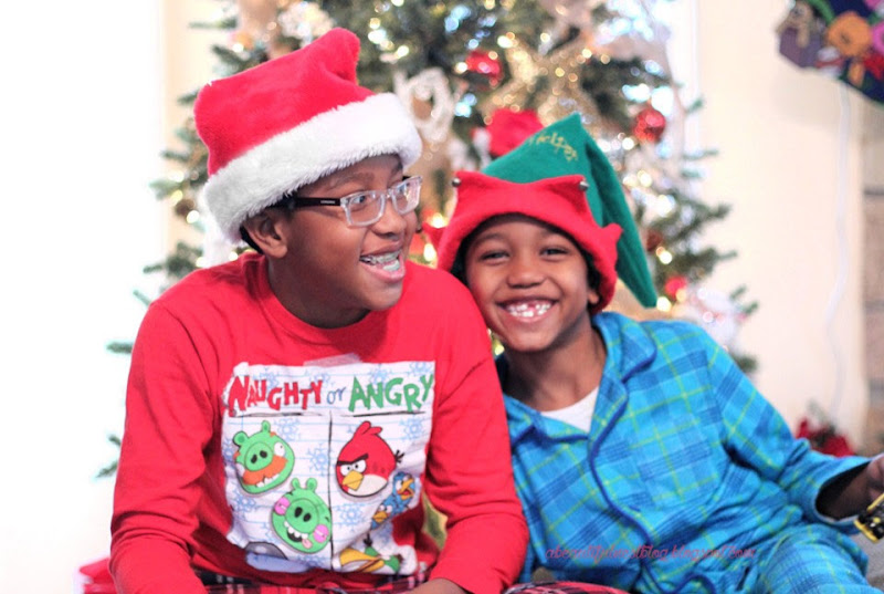 A-Beautiful-Nest-Christmas-2014-boys-laughing-by-the-tree