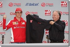 Esteban Gutierrez e  Gene Haas