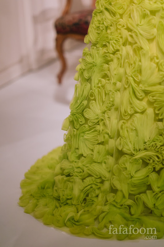 Details of Oscar de la Renta, Evening dress, 2012.