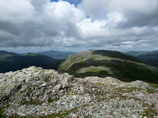 Glaramara from near Allan Crags
