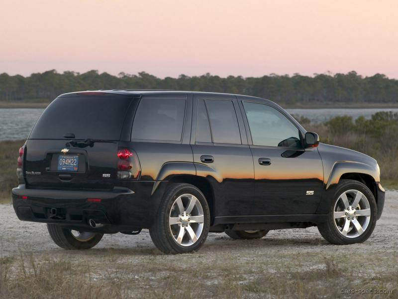 2009 chevrolet trailblazer ss specifications pictures prices. Black Bedroom Furniture Sets. Home Design Ideas