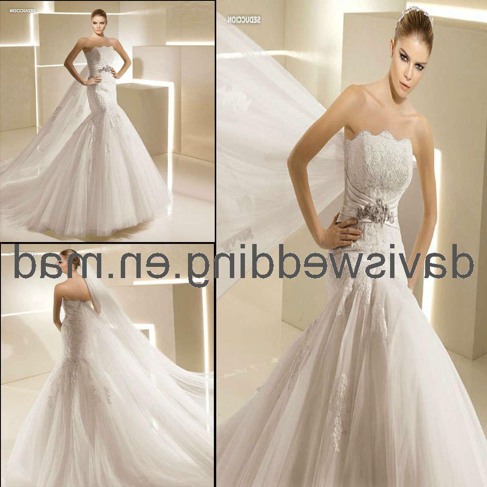 Strapless Bridal Dress  H-65