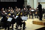 Orquestra de Pols i Pua de la Societat Musical d'Alboraia y su director Jaume Roca Ballester