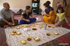 Śniadanie u rodziny w Sanandaj