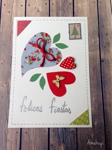 Tarjeta-navideña-corazón