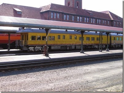 IMG_6107 Union Pacific Business Car #140 Stanford at Union Station in Portland, Oregon on May 9, 2009