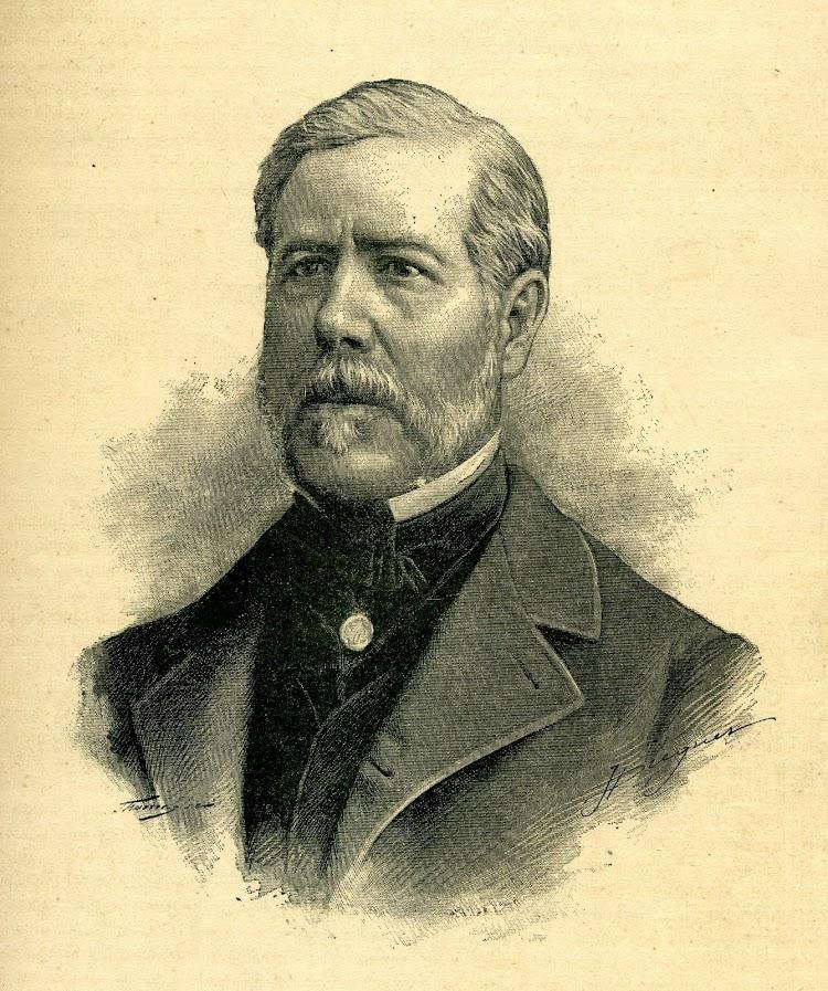 D. JUAN MONJO Y PONS. Retrato aparecido en la REVISTA DE NAVEGACIÓN Y COMERCIO. Año 1893..jpg