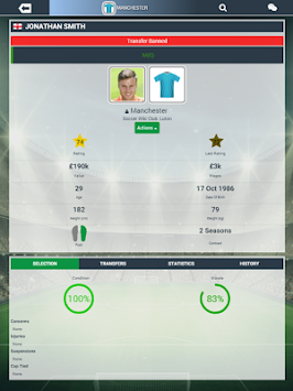 Soccer Manager Worlds APK screenshot thumbnail 7