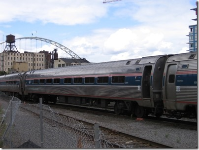 IMG_8492 Amtrak Amfleet I Coach #82609 at Union Station in Portland, Oregon on August 19, 2007