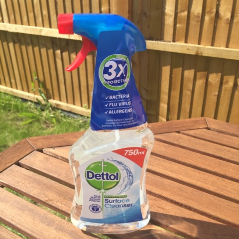 Dettol giveaway and review house cleaning