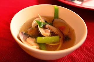 Zupa z małży