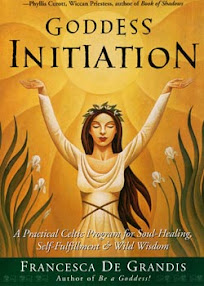 Cover of Francesca De Grandis's Book Goddess Initiation