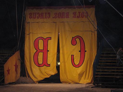 circus wedding centerpieces