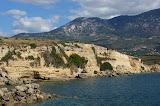 De kust van Kefalonia.