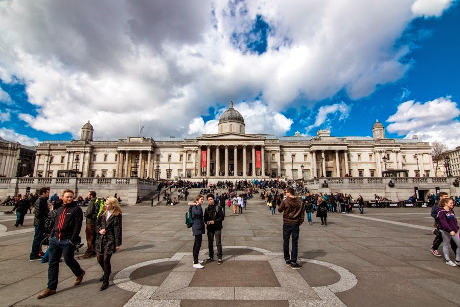 Plaza Trafalgar Square de Londres