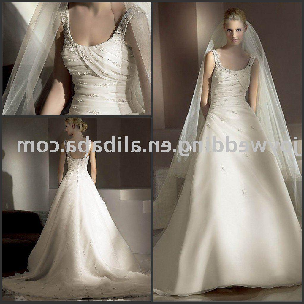 See larger image: Popular new white ivory fashion wedding dress W1672