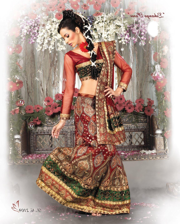 A beautiful Bridal Dress in